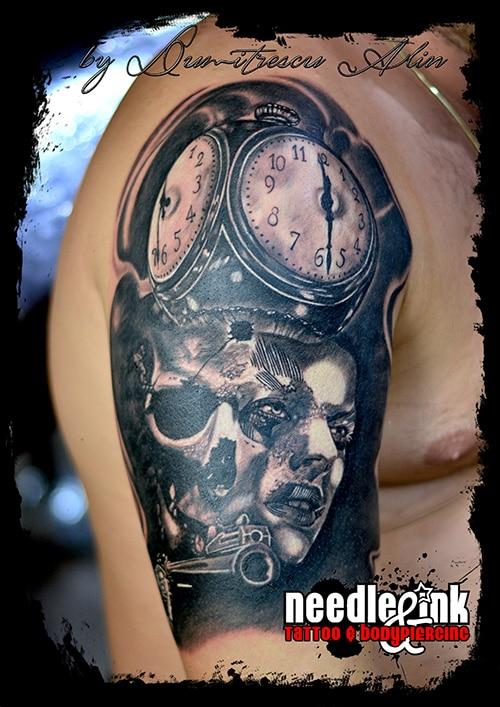 Proiect 6 – Needle & Ink Salon tatuaje Bucuresti