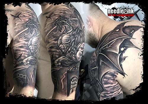 Proiect 3 – Needle & Ink Salone tatuaje bucuresti
